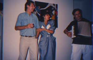 1988 Aug Subcommission party in Prevessin Louis Joinet Leandro