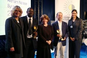 Remise du Prix Martin Ennals 2006