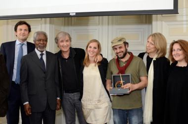 3 May 2014 Cartooning for Peace award, Geneva (c) THF